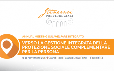 Annual meeting sul welfare integrato