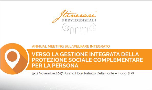Annual meeting sul welfare integrato