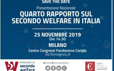 Presentazione Nazionale Quarto Rapporto sul secondo welfare
