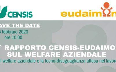 3° Rapporto Censis-Eudaimon sul welfare aziendale