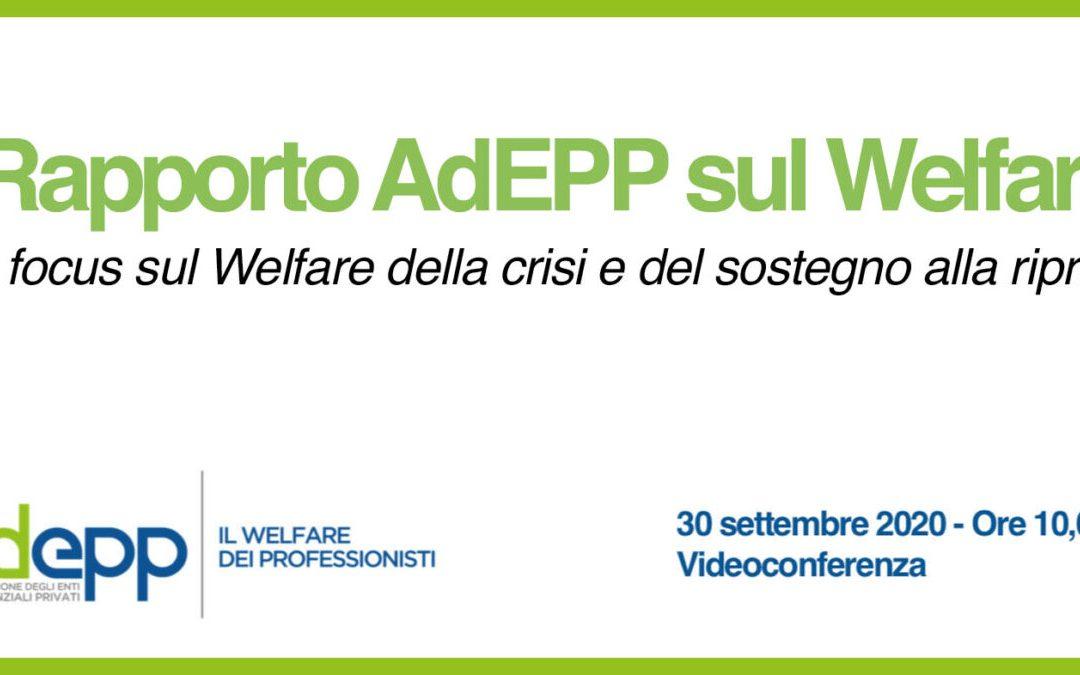 I Rapporto AdEPP sul welfare