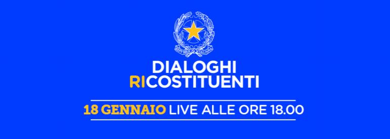 Dialoghi Ri-costituenti, ciclo di incontri organizzato da +Europa